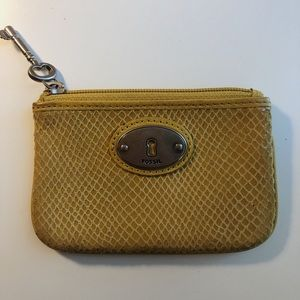 Fossil coin purse / wallet